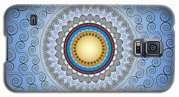 Galaxy S5 Case featuring the digital art Circularity No. 17 by Alan Bennington