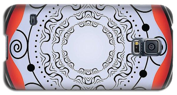 Galaxy S5 Case featuring the digital art Circularity No. 18 by Alan Bennington
