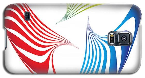 Galaxy S5 Case featuring the digital art Circularity No. 23 by Alan Bennington