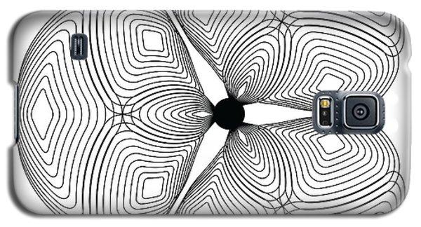 Galaxy S5 Case featuring the digital art Circularity No. 24 by Alan Bennington