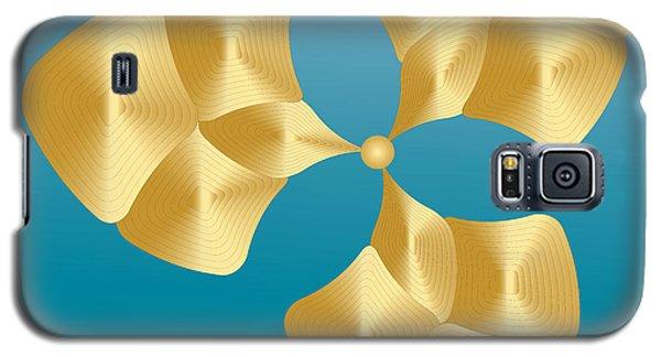 Galaxy S5 Case featuring the digital art Circularity No. 28 by Alan Bennington