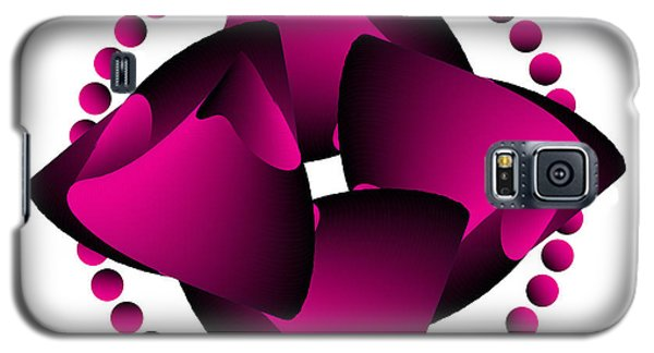Galaxy S5 Case featuring the digital art Circularity No. 30 by Alan Bennington
