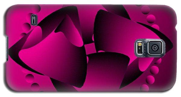 Galaxy S5 Case featuring the digital art Circularity No. 31 by Alan Bennington