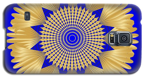 Galaxy S5 Case featuring the digital art Circularity No. 32 by Alan Bennington
