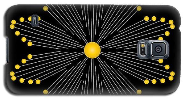 Galaxy S5 Case featuring the digital art Circularity No. 35 by Alan Bennington