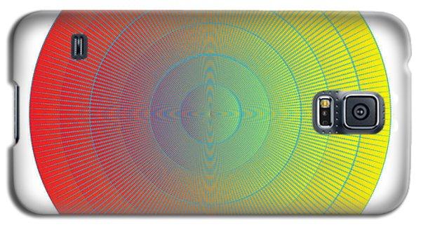 Galaxy S5 Case featuring the digital art Circularity No. 36 by Alan Bennington