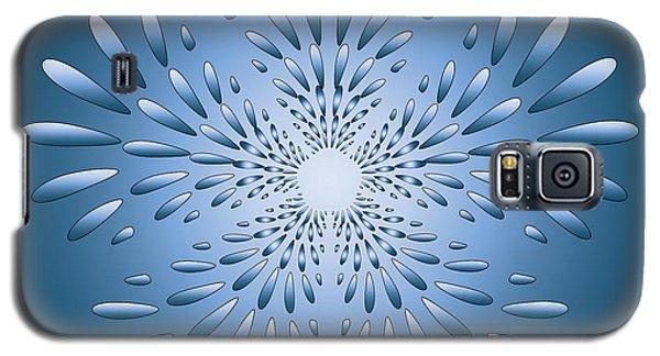 Galaxy S5 Case featuring the digital art Circularity No. 38 by Alan Bennington