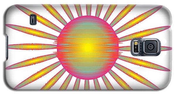 Galaxy S5 Case featuring the digital art Circularity No. 46 by Alan Bennington