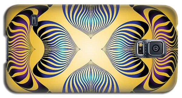 Galaxy S5 Case featuring the digital art Circularity No.12 by Alan Bennington
