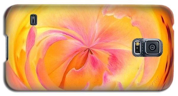 Edit Galaxy S5 Case - Circumspect Rose by Anna Porter