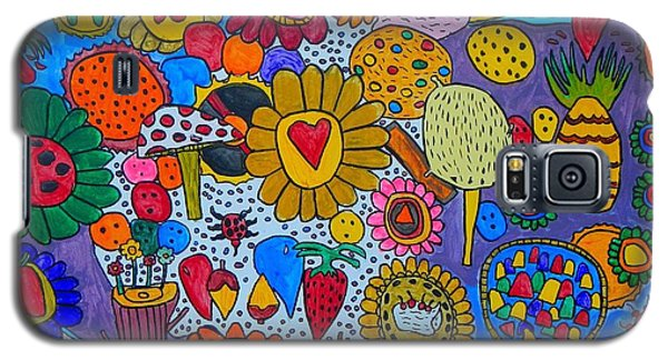 Circus Galaxy S5 Case by Artists With Autism Inc