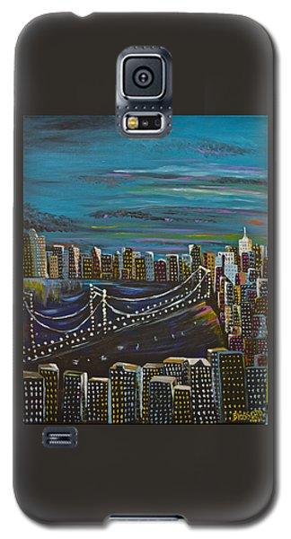 Citiscape Galaxy S5 Case by Donna Blossom