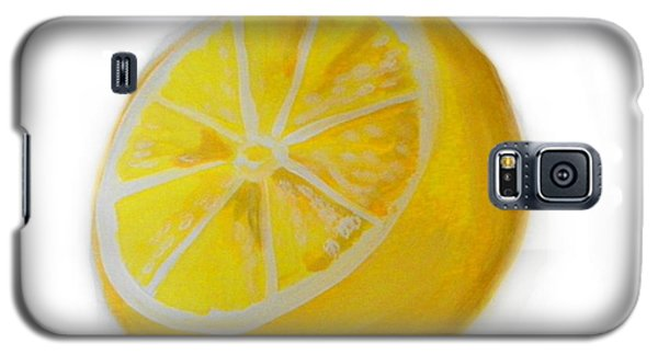 Galaxy S5 Case featuring the painting Citrus by Marisela Mungia
