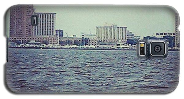 City Across The Sea Galaxy S5 Case