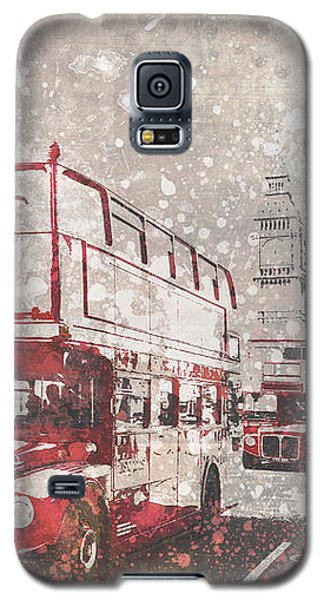 City-art London Red Buses II Galaxy S5 Case