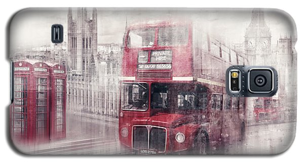 City-art London Westminster Collage II Galaxy S5 Case