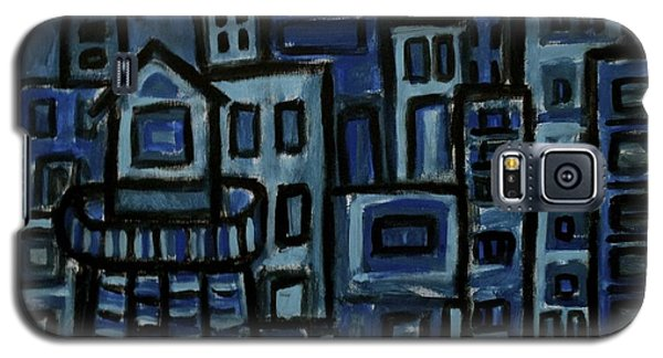 City At Night Galaxy S5 Case