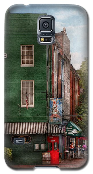 City - Baltimore - Fells Point Md - Bertha's And The Greene Turtle  Galaxy S5 Case