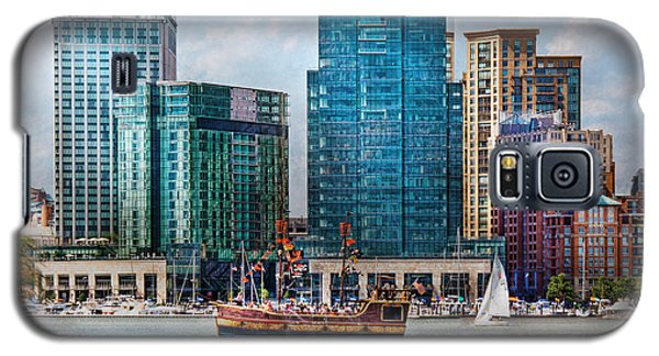 City - Baltimore Md - Harbor East  Galaxy S5 Case