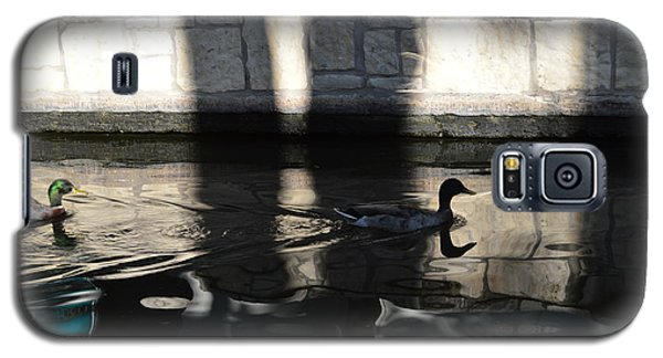Galaxy S5 Case featuring the photograph City Ducks by Shawn Marlow