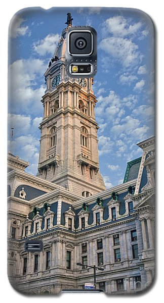 City Hall Clock Tower Downtown Phila Pa Galaxy S5 Case