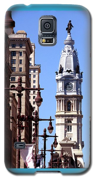 Philadelphia City Hall From Broad St Galaxy S5 Case