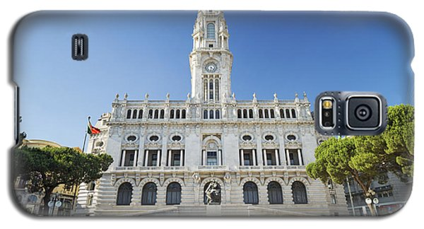 City Hall In Porto Portugal Galaxy S5 Case