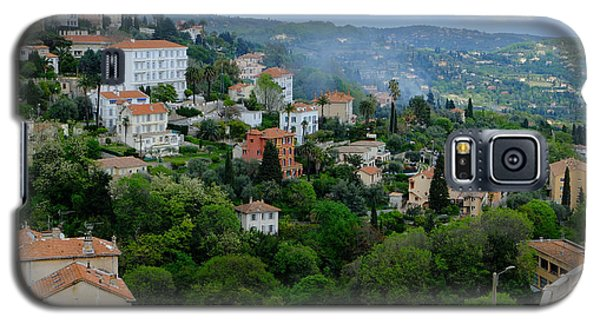 City Hills Of Grasse France Galaxy S5 Case