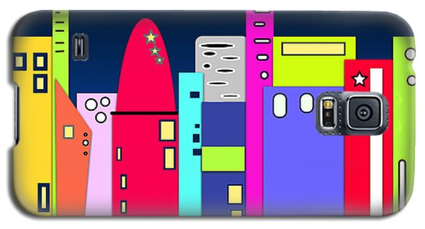 City In Space Galaxy S5 Case