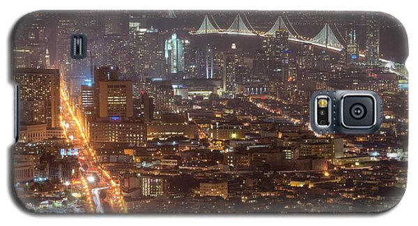 City Lava Galaxy S5 Case by Peter Thoeny