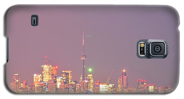 City Lights Glimmer Over Open Water  Galaxy S5 Case