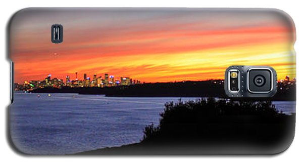 City Lights In The Sunset Galaxy S5 Case by Miroslava Jurcik