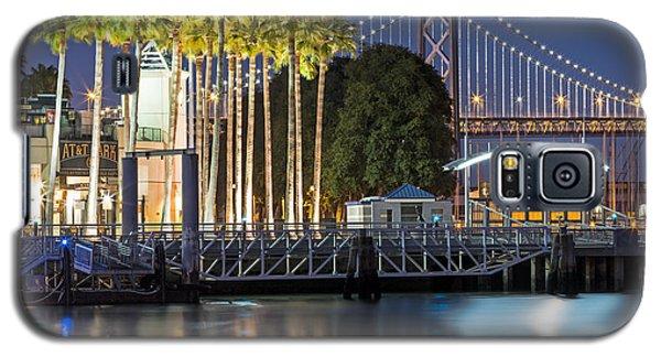 City Lights On Mission Bay Galaxy S5 Case