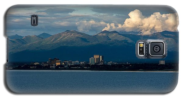 City Of Anchorage  Galaxy S5 Case by Andrew Matwijec