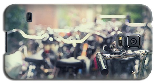 Bicycle Galaxy S5 Case - City Of Bikes by Jane Rix
