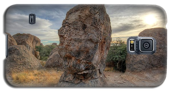 Galaxy S5 Case featuring the photograph City Of Rocks by Martin Konopacki