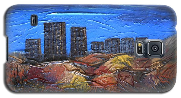 City Of Trees Galaxy S5 Case by Angela Stout