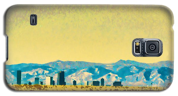 City On The Plains Galaxy S5 Case