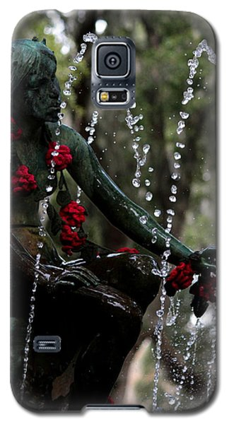 City Park Fountain II Galaxy S5 Case by Beth Vincent