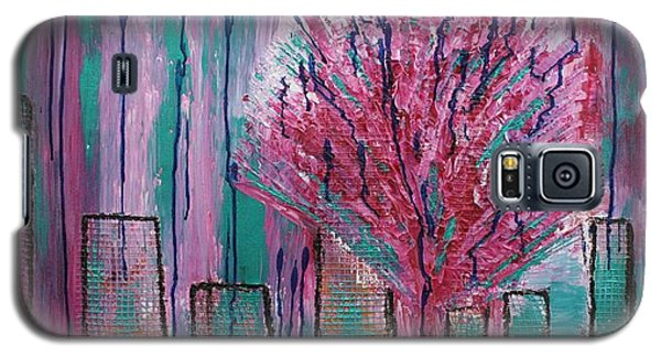City Pear Tree Galaxy S5 Case by Nan Bilden