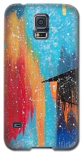 City Perspectives With A Broad Brush Galaxy S5 Case