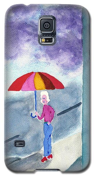 City Rain Galaxy S5 Case by Frank Bright