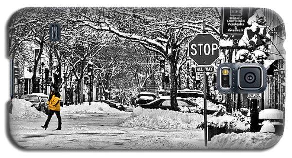 City Snowstorm Galaxy S5 Case by Deborah Klubertanz