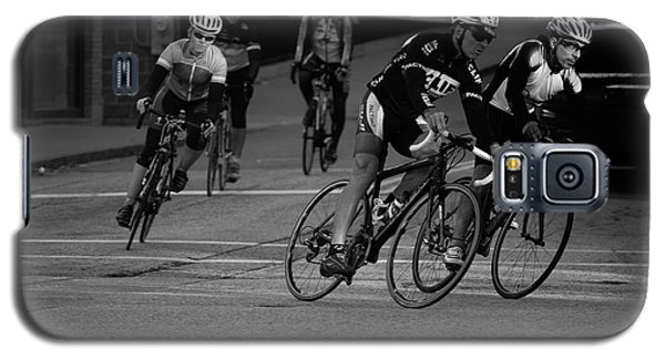 City Street Cycling Galaxy S5 Case