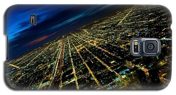 City Street Lights Above Galaxy S5 Case