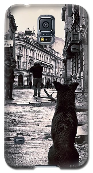 City Streets And The Theory Of Waiting Galaxy S5 Case
