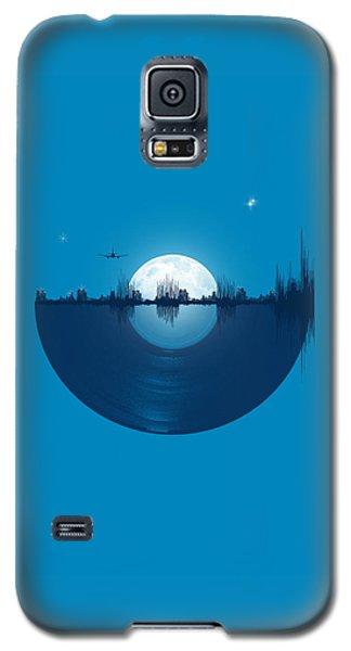 City Scenes Galaxy S5 Case - City Tunes by Neelanjana  Bandyopadhyay