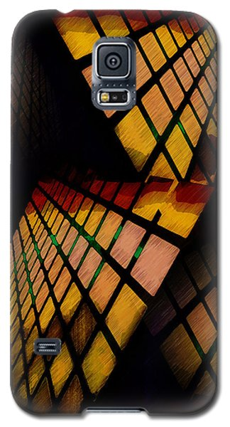 City View Abstract Galaxy S5 Case