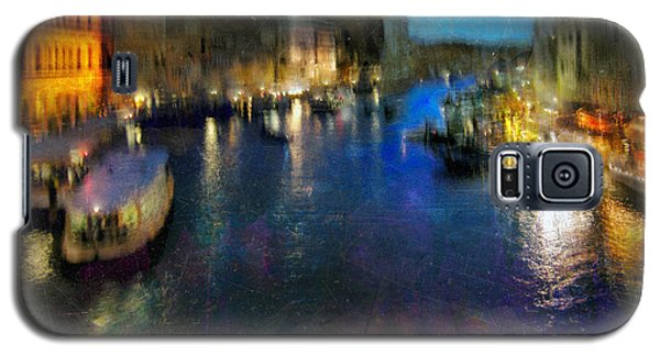 Galaxy S5 Case featuring the photograph Cityscape #19. Venetian Night by Alfredo Gonzalez