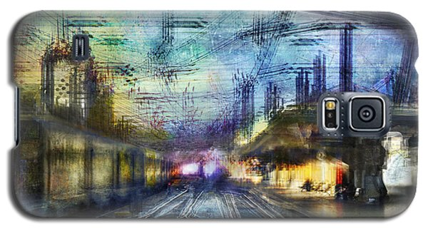 Cityscape #37 - Crossing Lines Galaxy S5 Case